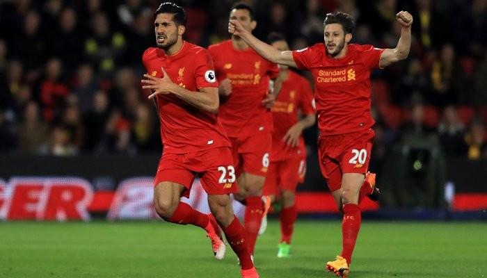 «Ливерпуль» обыграл «Уотфорд» благодаря великолепному голу Джана