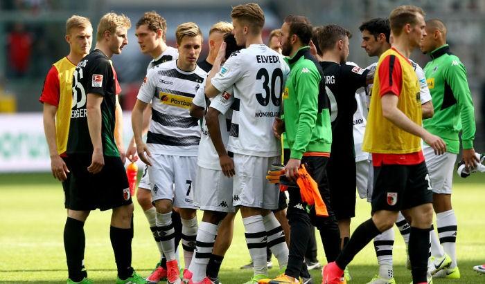Аугсбург упустил победу в Гладбахе