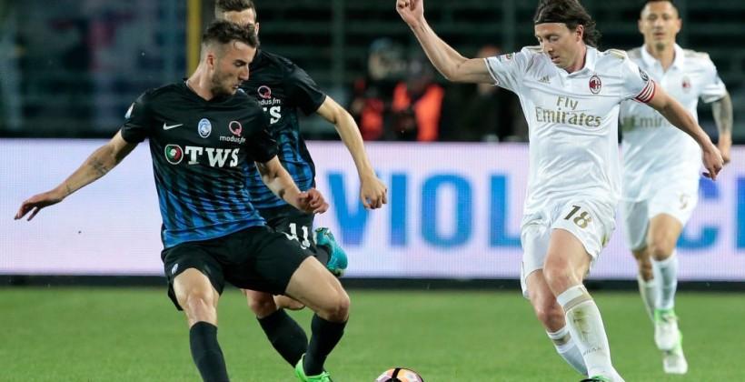 «Милан» сыграл вничью с«Аталантой» вматче чемпионата Италии пофутболу