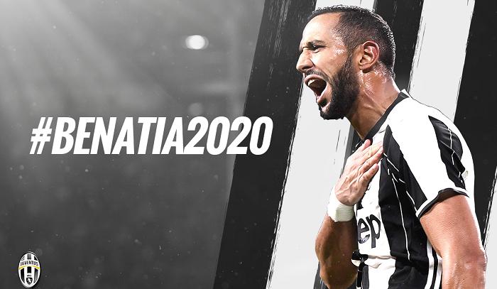 «Ювентус» подписал договор сБенатия до 2020-ого года