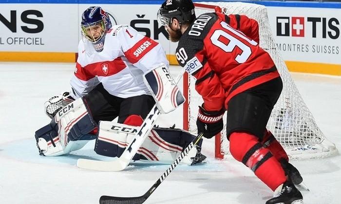 Сборная Канады потерпела первое поражение начемпионате мира похоккею