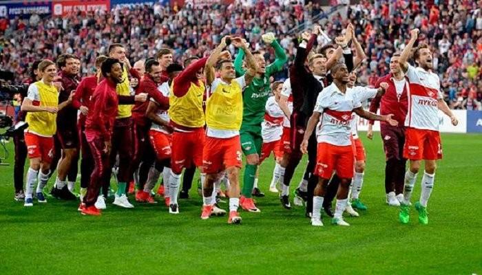 Московский «Спартак» преждевременно стал чемпионом Российской Федерации пофутболу