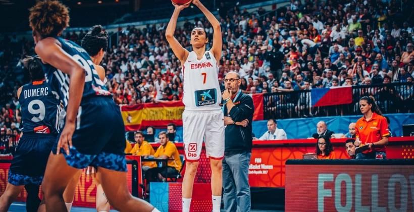 Сборная Испании сыграет скомандой Франции вфинале женскогоЧЕ побаскетболу