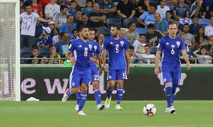 Израиль дома потерпел поражение от Албании