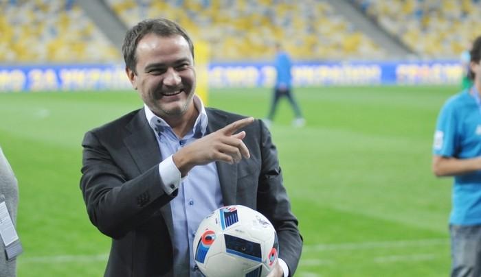 Павелко переизбран президентом ФФУ