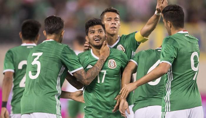 Мексика уверенно обыграла Ирландию втоварищеском матче