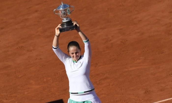 Остапенко выиграла Открытый чемпионат Франции