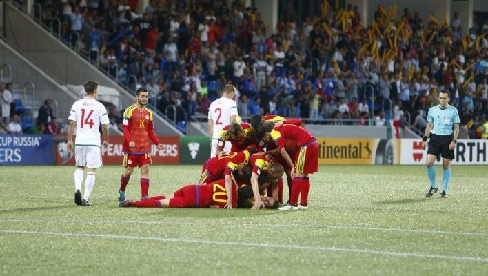 Андорра одержала первую победу с2004 года