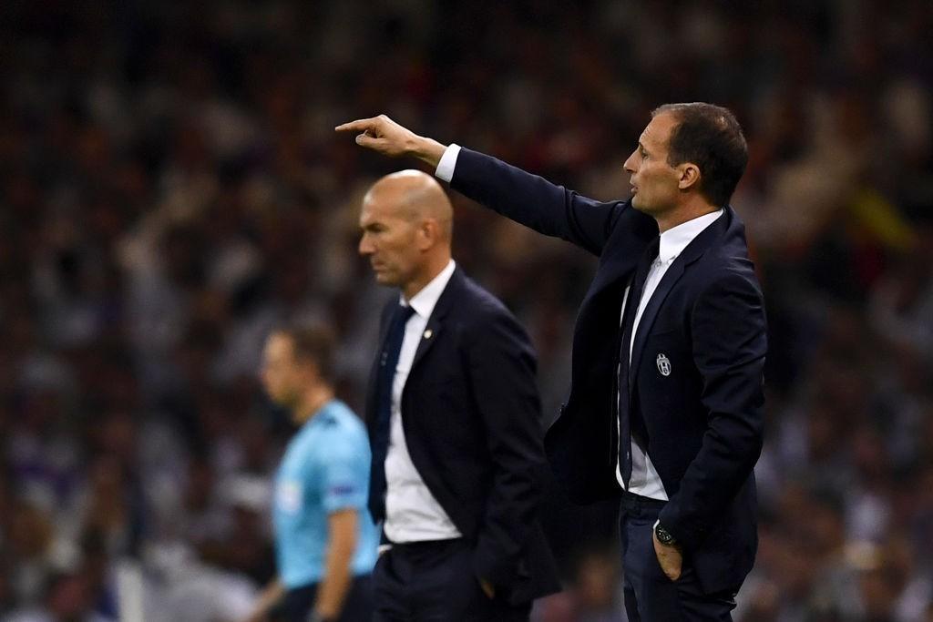 Аллегри: во втором тайме Ювентус психологически сдался Реалу