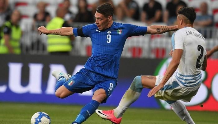 Сборная Италии пофутболу разгромила Уругвай втоварищеском матче