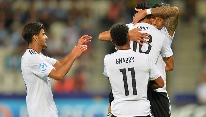 Германия— 1-ый финалист молодежного Евро