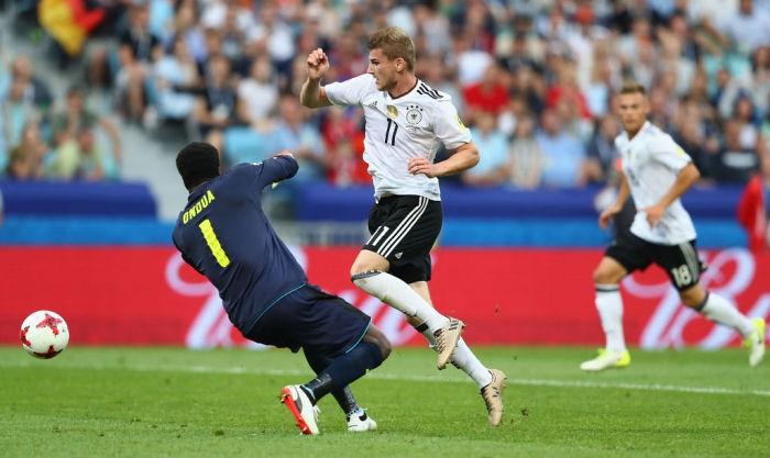 Сборная Германии обыграла команду Камеруна наКубке конфедераций 2017