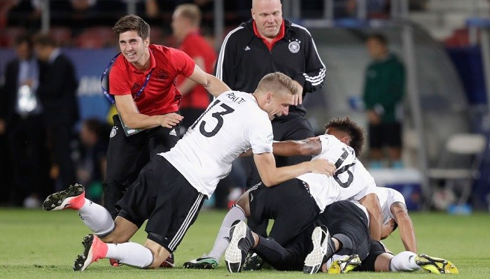 Сборная Германии U-21 выиграла чемпионат Европы