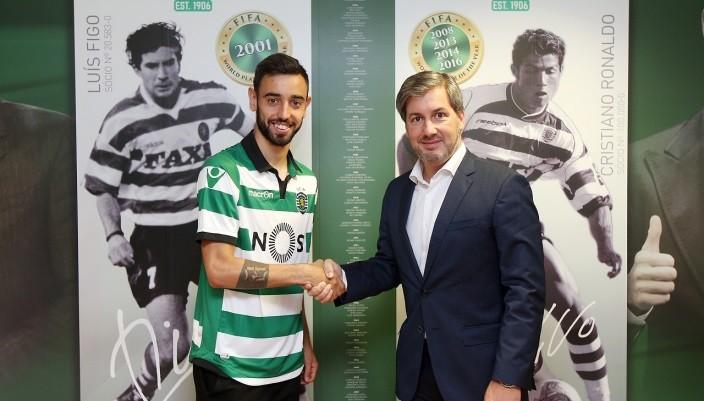 Лиссабонский «Спортинг» объявил опереходе Бруну Фернандеша за эвро 8,5 млн