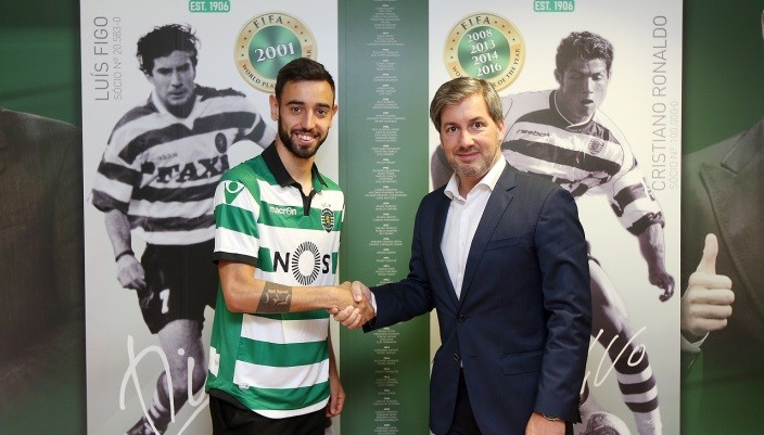 Спортинг подписал Бруну Фернандеша