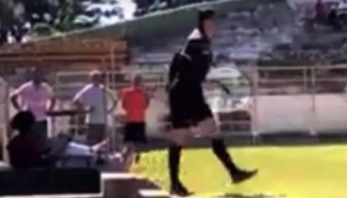 ВБразилии футбольный арбитр достал пистолет вовремя матча