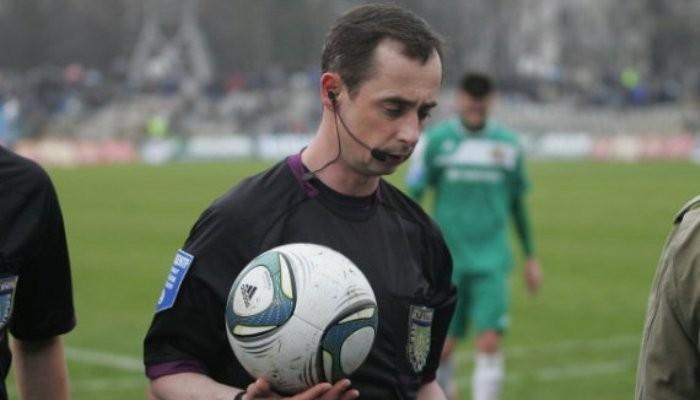 Украинского арбитра отстранили отфутбола из-за неназначенного пенальти вворота «Динамо»