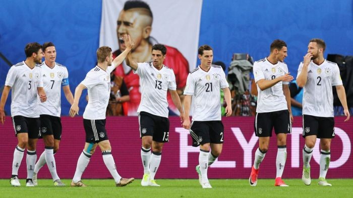 Германия — победитель Кубка Конфедераций