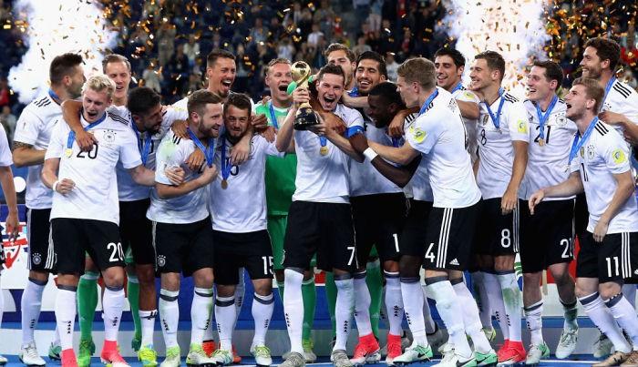 Чили иГермания встретятся вфинале Кубка Конфедераций