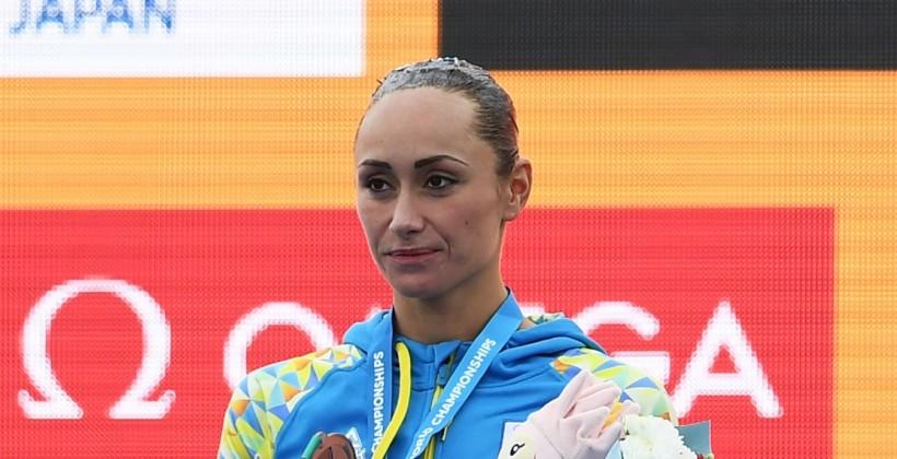 Украинка Волошина завоевала 3-ю медаль наЧМ поводным видам спорта