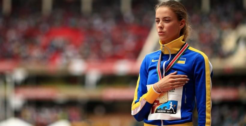 Украинская прыгунья Магучих: «Готовлюсь ставить рекорды на юношеской Олимпиаде»