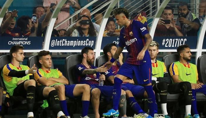 Барселона ждет Неймара в среду на тренировке