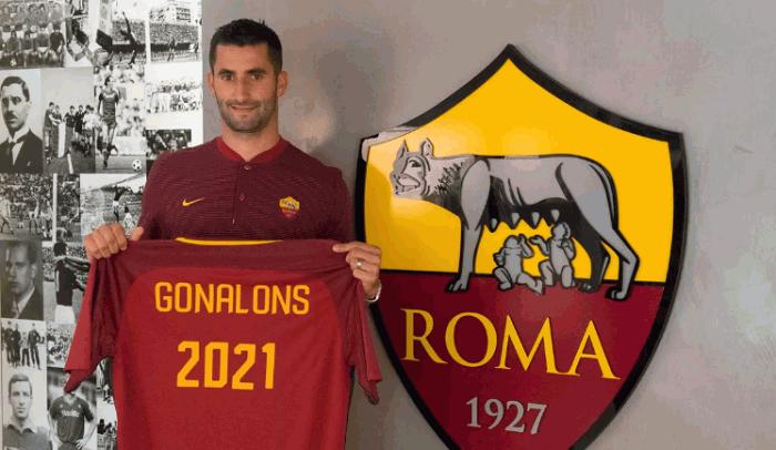 Гоналон подписал четырехлетний контракт с Ромой