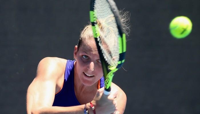Известная теннисистка засунула палец ввентилятор исорвала матч