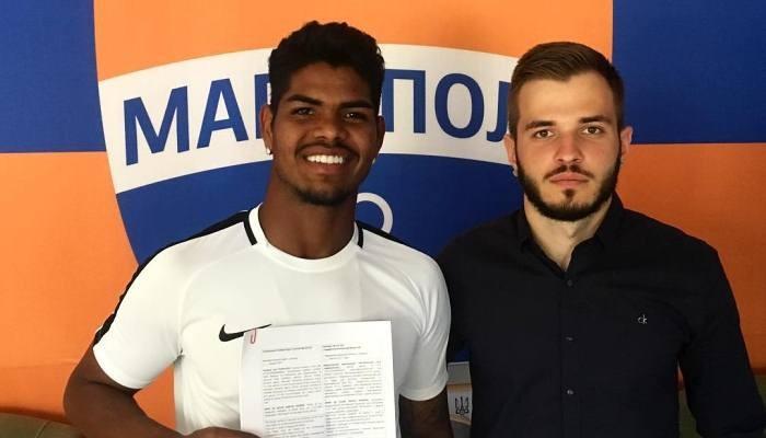 Мариуполь подписал бразильца Эрикса
