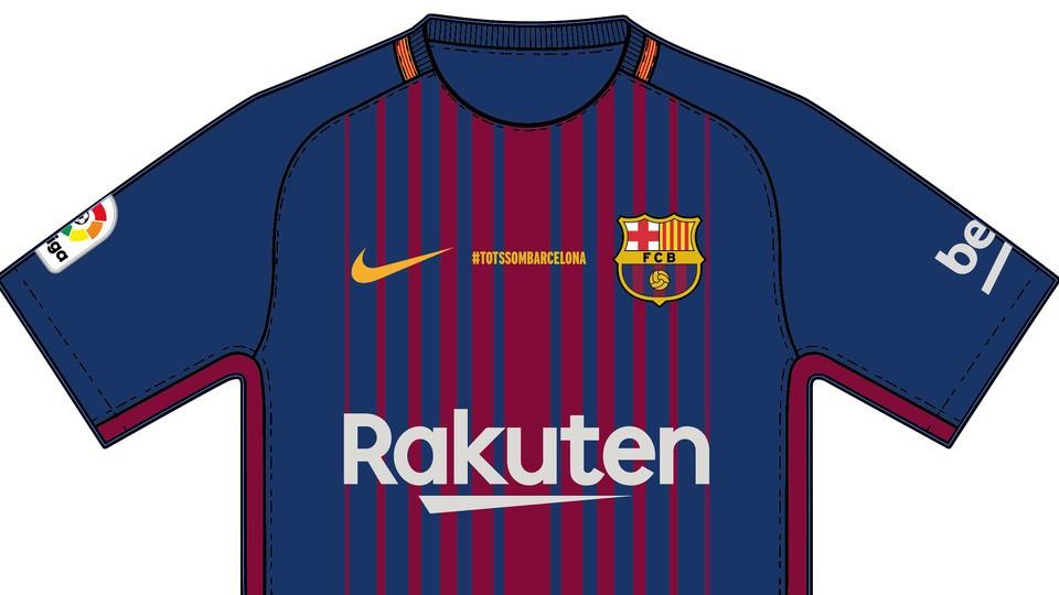 «Барселона» сыграет с«Бетисом» в особых футболках впамять ожертвах терактов