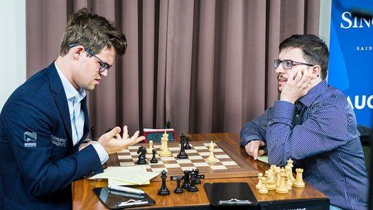 Русский шахматист лидирует насупертурнире вСент-Луисе