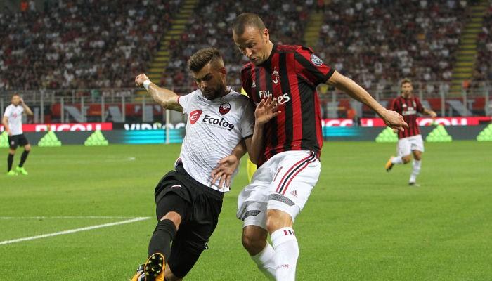 Милан впервый раз с1993 года забил 6 голов веврокубках