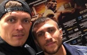 Красюк: Улюблений боксер Усика – Ломаченко