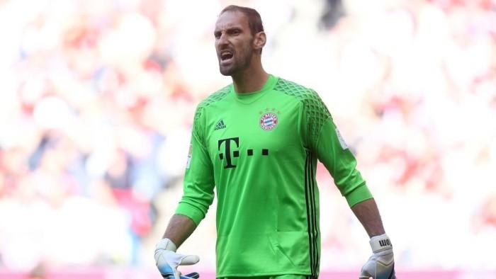 Бавария дозаявила Штарке наматчи Лиги чемпионов