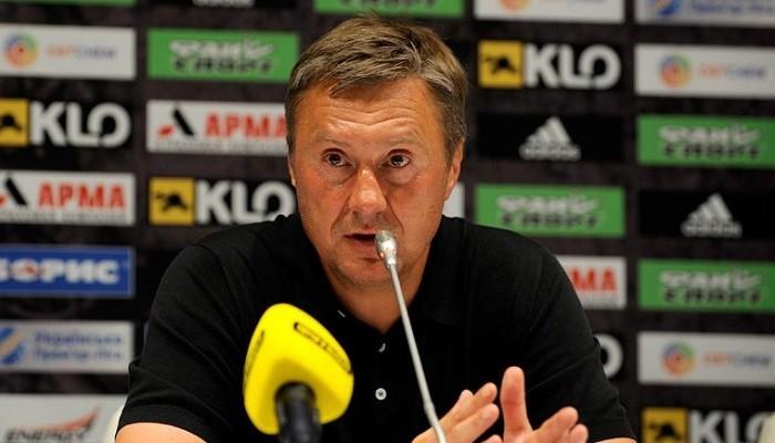Хацкевич: «Постараемся быть агрессивны в атаке, как чешские осы»