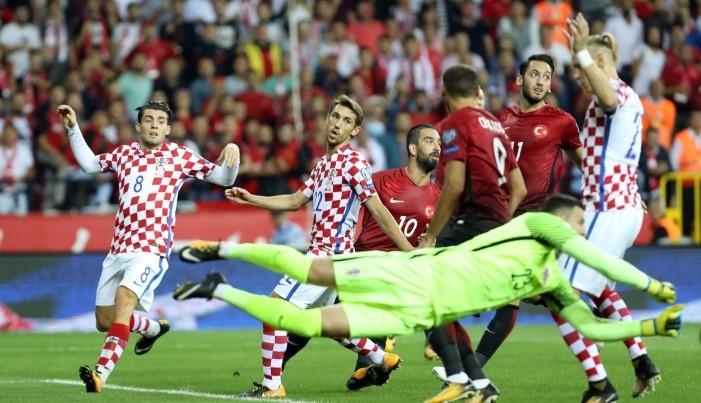 Турция минимально обыграла Хорватию