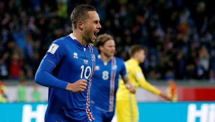 Гильфи Сигурдссон: Исландии удалось остановить сильную полузащиту Украины