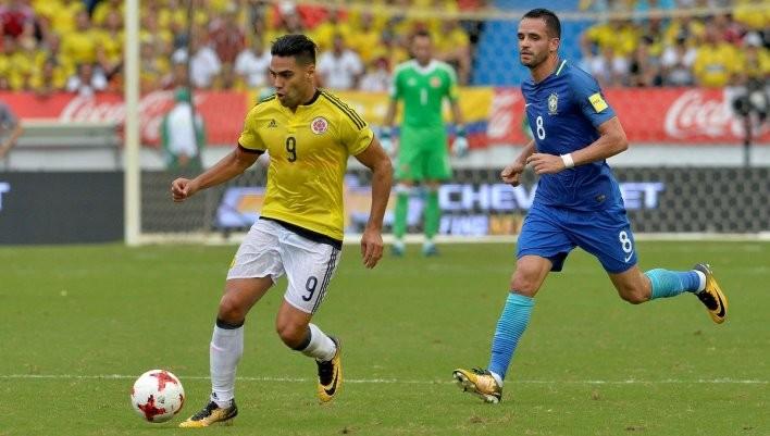 Колумбия сыграла вничью с Бразилией