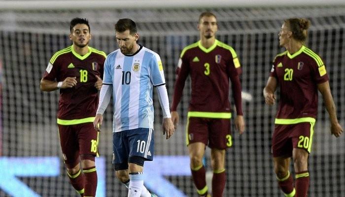 Аргентина не смогла обыграть Венесуэлу и др.матчи