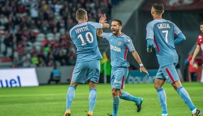 «Монако» в7-м туре Лиги 1 разгромил навыезде «Лилль»