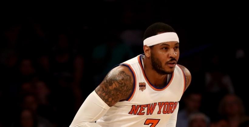 Клуб НБА «Нью-Йорк» обменял форварда Кармело Энтони в«Оклахому»