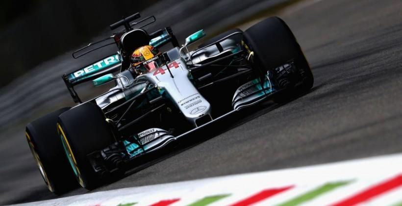 Хэмилтон одержал победу вквалификации Гран-при Италии, Квят— 14-й