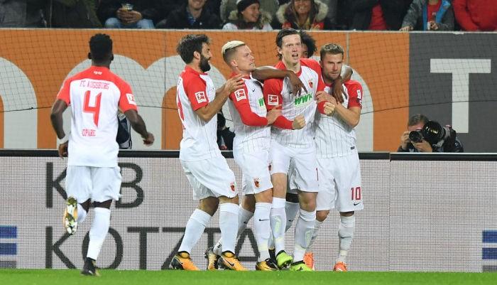 Аугсбург обыграл РБ Лейпциг и ворвался в топ-4