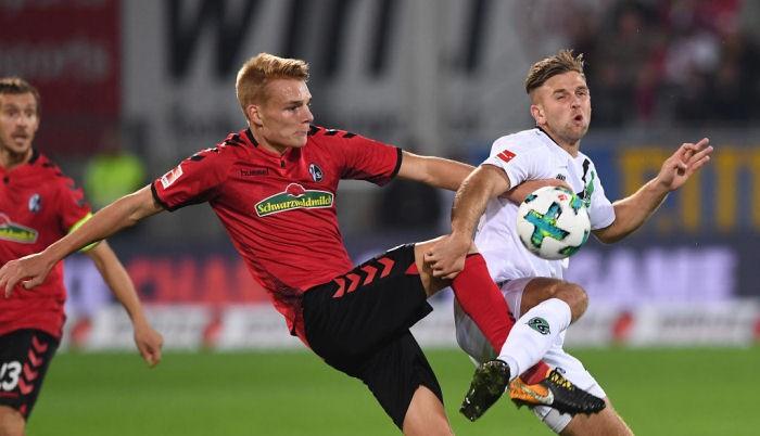 Ганновер не смог обыграть Фрайбург, но остался в топ-3
