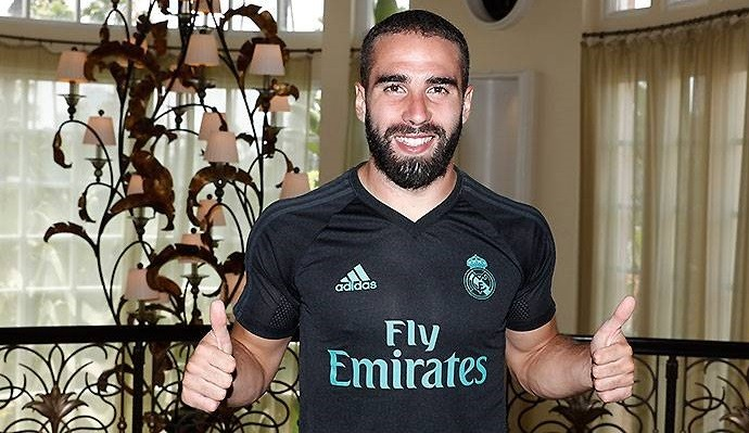 Дани Карвахаль продлил договор  с«Реалом»