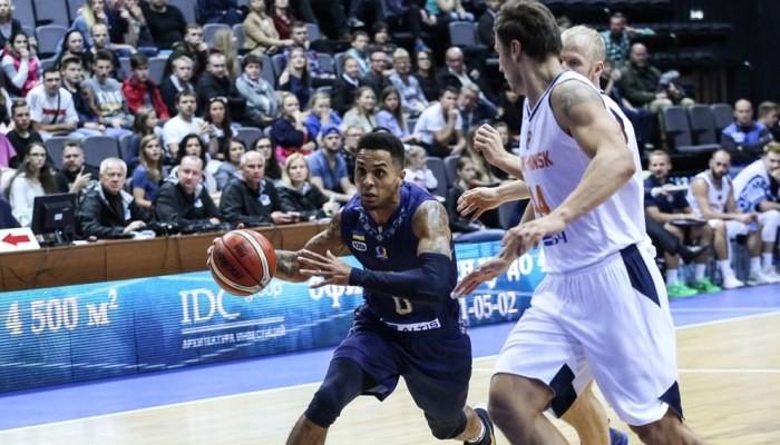 Баскетбол: «Будивельнык» уступил белорусам вквалификации Лиги чемпионов