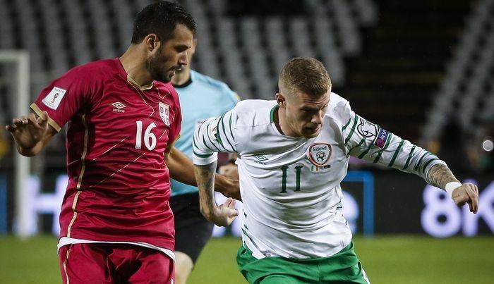 Сербия добыла важную победу в Дублине