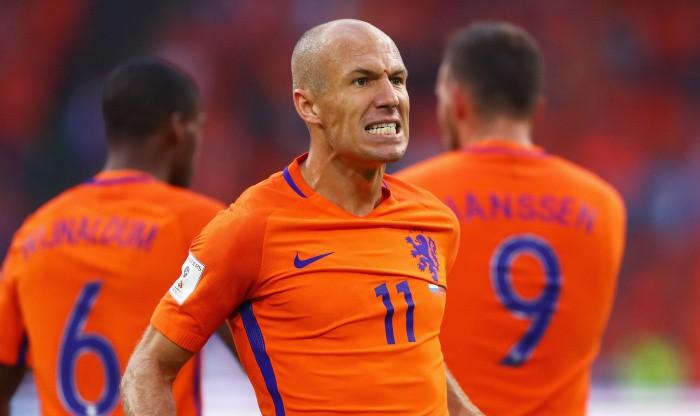 Роббен: сборная Нидерландов несможет обыграть Швецию сосчётом 7:0
