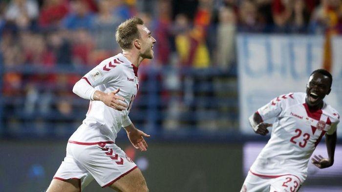 Дания обыграла Черногорию и закрепилась на втором месте
