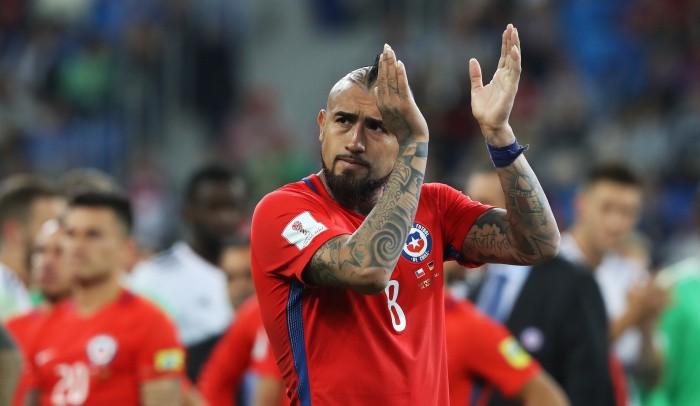 Видаль объявил озавершении карьеры всборной Чили после непопадания наЧМ